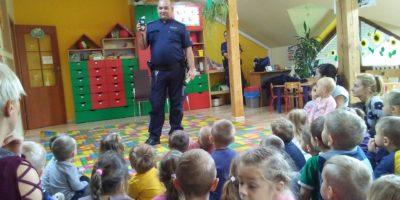 Policja w naszym przedszkolu!
